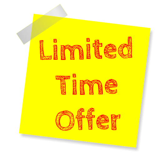 Limited time offer on landing page copy
